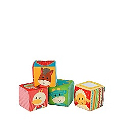 Early Learning Centre - Blossom farm touch feel cubes