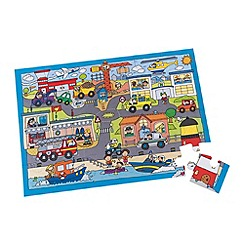 Early Learning Centre - Emercengy vehicles puzzle