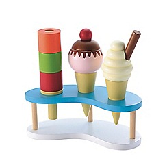 Early Learning Centre - Wooden ice cream set