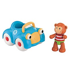 Early Learning Centre - Toybox monty monkey and his racing car