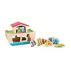 Early Learning Centre - Wooden noahs ark shape sorter