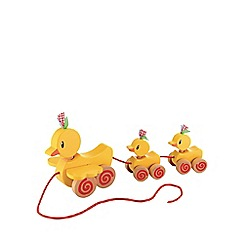 Early Learning Centre - Wooden pull along ducks