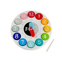 Early Learning Centre - Wooden teaching clock