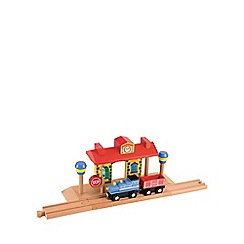 Early Learning Centre - Wooden train station with sound