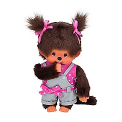 Monchhichi - Pink Dot Ribbon Girl  20cm