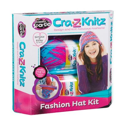 Cra-Z-Art Cra Z Knitz hat kit - . -