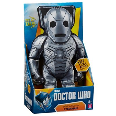 Doctor Who Light and sound cyberman - . -