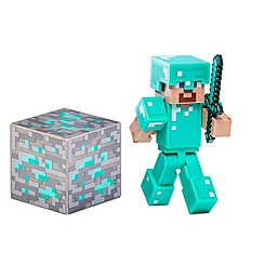 Minecraft - Diamond Steve Action Figure