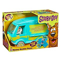 Scooby Doo - Scooby Mystery Machine playset and Fred figure