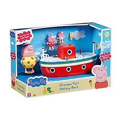 Peppa Pig - Grandpa pig's holiday boat