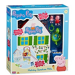 Peppa Pig - Holiday sunshine villa