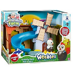 Weebles - Wobbly big barn and mini playset