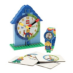 LEGO - Boys Time Teacher Clock and Watch set