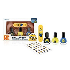 Despicable Me - Minions nail art set