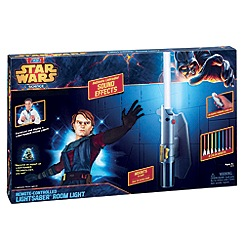 Star Wars - Science Bedroom Deluxe 8 Colour Lightsaber Room Light