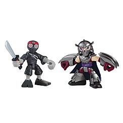 Teenage Mutant Ninja Turtles - Half-Shell Heroes 2-pack - Shredder and Foot Soldier