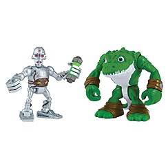 Teenage Mutant Ninja Turtles - Half-Shell Heroes 2-pack - Kraang and Leatherhead