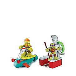 Teenage Mutant Ninja Turtles - Half-Shell Heroes Vehicle and Figure - Sewer Cruiser with Mikey