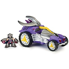 Teenage Mutant Ninja Turtles - Half-Shell Heroes - Deluxe - Shred Tread with Shredder