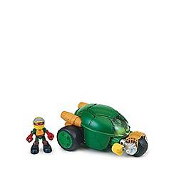 Teenage Mutant Ninja Turtles - Half-Shell Heroes - Deluxe Vehicle - Stealth Bike with Racer Raph