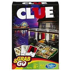 Hasbro Gaming - Clue Grab & Go