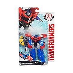 Transformers - Robots in Disguise Warriors Class Optimus Prime Figure