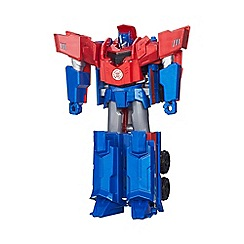 Transformers - Robots in Disguise 3-Step Changers Optimus Prime Figure