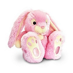 Keel - Pink patchfoot rabbit plush