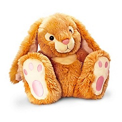 Keel - Brown patchfoot rabbit plush