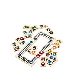 Thomas & Friends - Wooden Dominoes and Track Puzzle