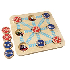 Thomas & Friends - Wooden Tic Tac Toe Game