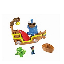 Jake & The Neverland Pirates - Fisher-Price Splashin Bucky Bath Toy