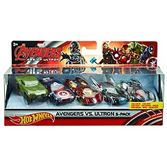 The Avengers - Hot Wheels Marvel Age Of Ultron Avengers Vs. Ultron 5-Pack