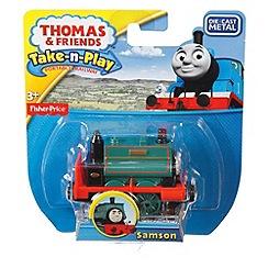 Thomas & Friends - Fisher-Price Thomas & Friends Take-n-Play Samson