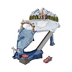 Disney Cars - Ice Racers Snow Drifter Spinout Trackset
