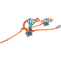 Hot Wheels - Track Builder Spiral Stack-Up Track Set