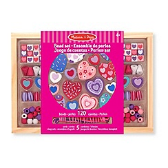 Melissa & Doug - Sweet hearts bead set