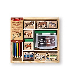 Melissa & Doug - Horses stamp set