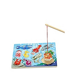 Melissa & Doug - Magnetic wooden game - fishing