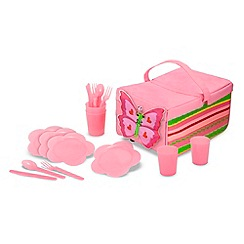 Melissa & Doug - Bella butterfly picnic set