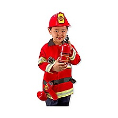 melissa doug fire chief role play set