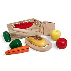 Melissa & Doug - Wooden cutting food