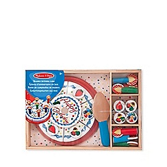 Melissa & Doug - Wooden birthday cake