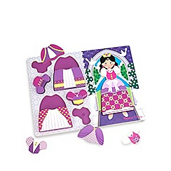 Melissa & Doug - Princess dress-up chunky puzzle