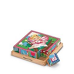 Melissa & Doug - Princess & fairy cube puzzle