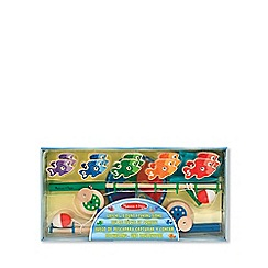 Melissa & Doug - Catch & count magnetic fishing rod set