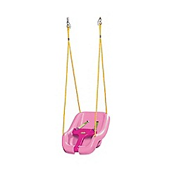 Little Tikes - Pink 2-in-1 snug 'n secure swing seat