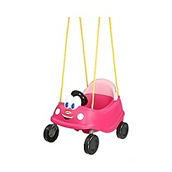 Little Tikes - Princess cozy coupe first swing