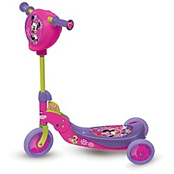 Minnie Mouse - 3 wheeled foldable scooter