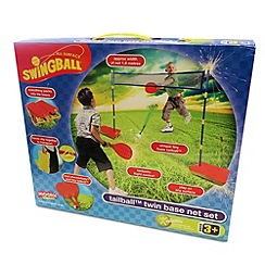 Swingball - Tailball twinbase net set